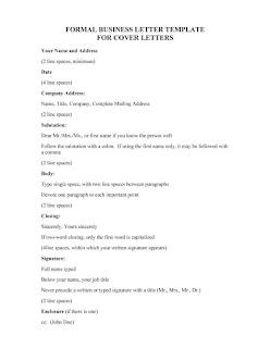 business letter template google docs