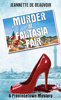 Bea's Book Nook, Review, Giveaway, Murder at the Fantasia Fair, Jeannette de Beauvoir