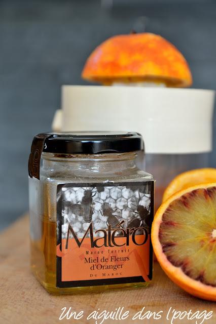 Miel fleur d'oranger Matéro