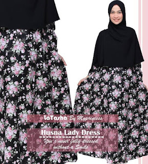 Gamis Latasha Husna Lady Dress