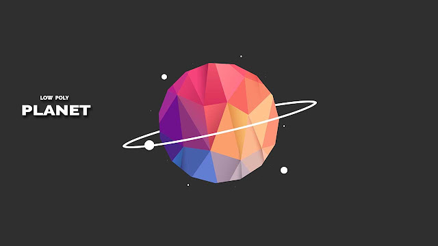 Movie Poster 2019: How To Create A Low Poly Flat Planet Design In Photoshop