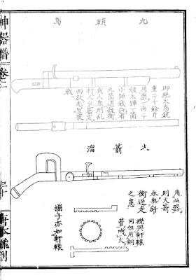Ming Chinese Rocket Arquebus
