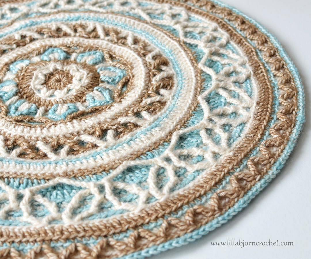 ... Mandala: new release in overlay crochet LillaBj?rns Crochet World