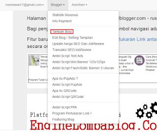 cara mendaftarkan blog ke kumpul blogger
