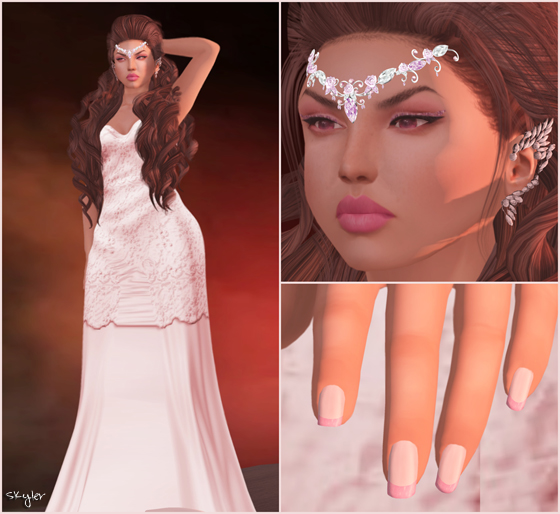 SL Outfit of the Day: Blood Red Moon Fantasy @ Skyler's SL Freebies, Cheapies and More!