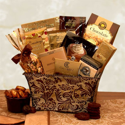 Kim's La Bella Baskets Fall Gifts Savory Sophistication