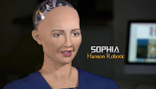 Sophia The Humanoid Robot