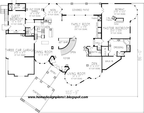 Luxury house plan 37