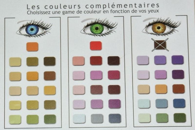 mademoiselle chic choc la compl mentarit des couleurs make up. Black Bedroom Furniture Sets. Home Design Ideas