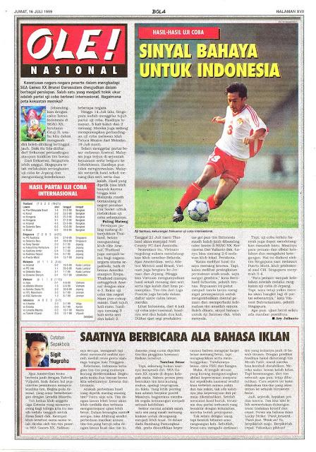 HASIL-HASIL UJI COBA SINYAL BAHAYA UNTUK INDONESIA