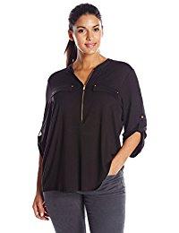 Buy Women's Roll /Short Sleeve Blouse T Shirt