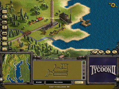 Railroad Tycoon 2 Game Screenshots 1998