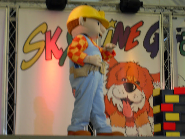 Bob the Builder on stage at the Butlin's live show