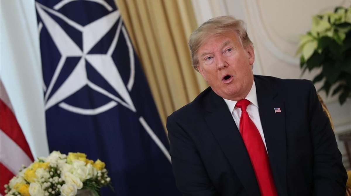 """Trump afirma que la declaración de Macron sobre la """"muerte cerebral"""" de la OTAN fue """"desagradable e irrespetuosa"""""""