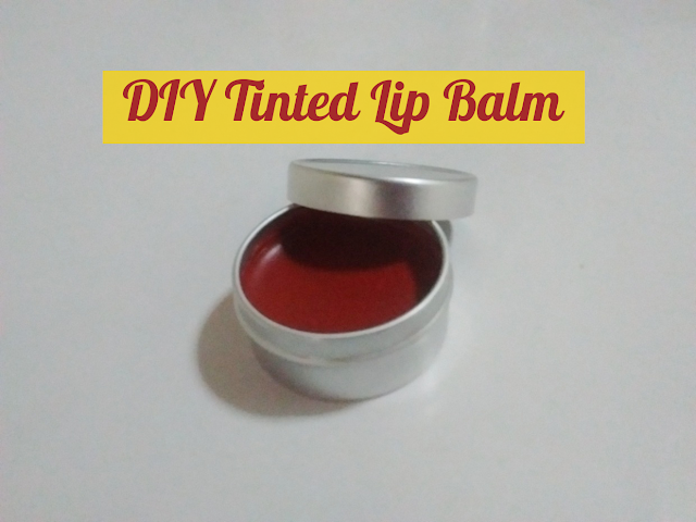 DIY Homemade Tinted Lip Balm