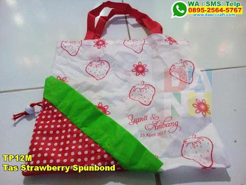 Grosir Tas Strawberry Spunbond