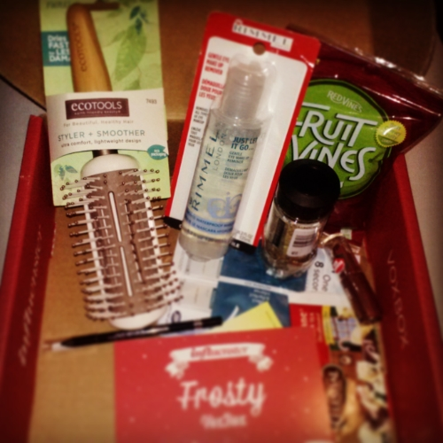 #FrostyVoxBox #beauty #snacks #herbs