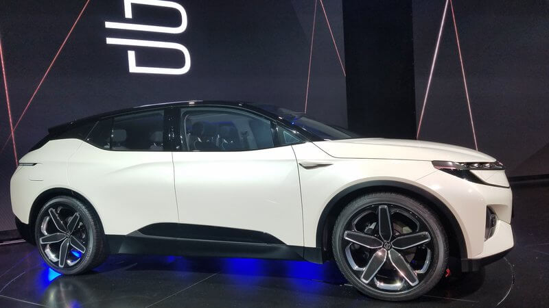 CES2018-Byton's SUV; Byton's Electric SUV