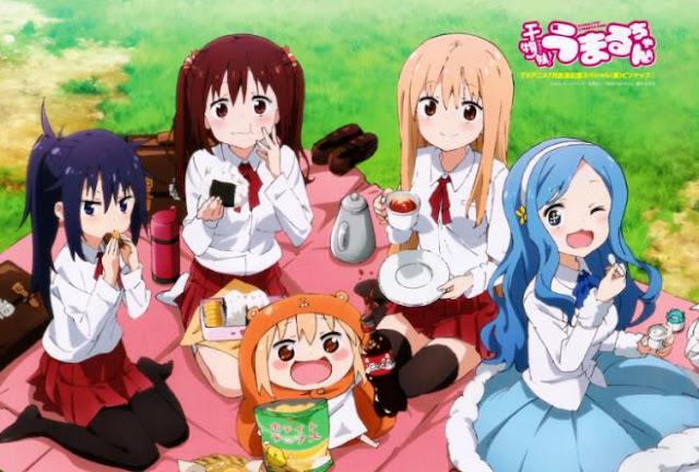 Daftar Anime School Comedy Terbaik dan Terpopuler - Himouto! Umaru-chan