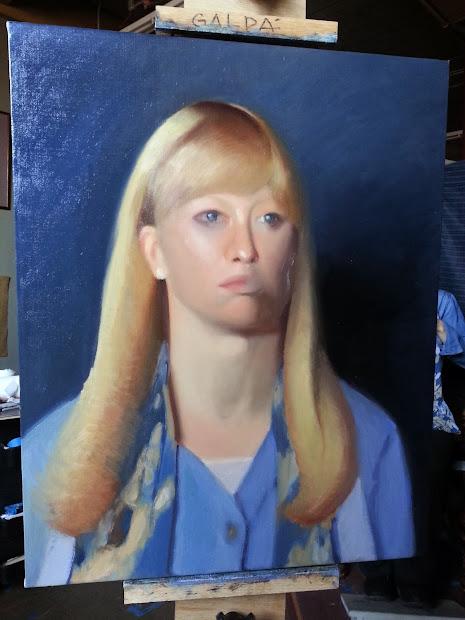 Sandra Galda' Oil Painting