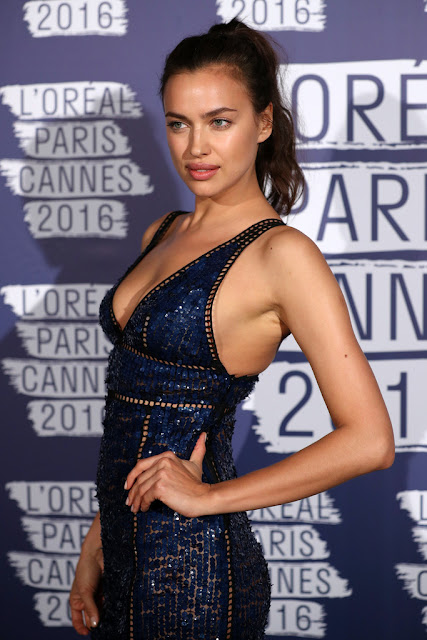 Actress, Model, @ Irina Shayk - L'Oreal Paris Blue Obsession Party in Cannes