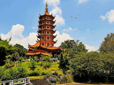 Pagoda dan biara Watugong