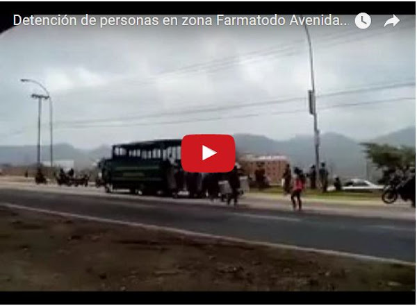 Atacan a manifestantes en la Intercomunal de Guarenas