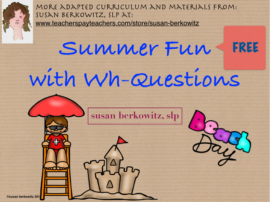 Kidz Learn Language What Kinds Of Questions Can You Answer