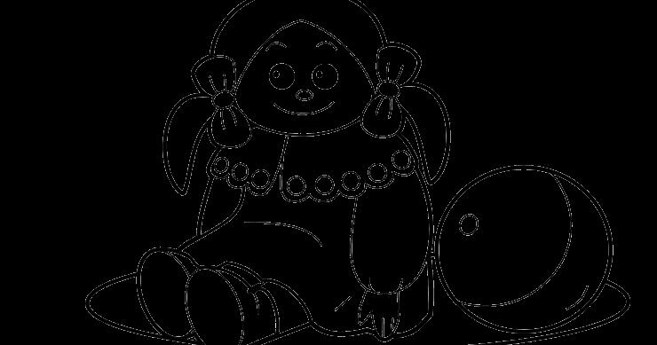 Gambar Boneka Untuk Mewarnai Adzka