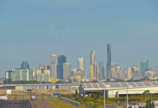 Brisbane City Airport View