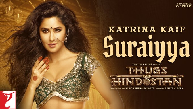 Katrina Kaif As Suraiyya in Thugs of Hindostan
