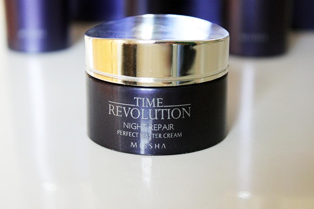 Missha Time Revolution Night Repair Perfect Master Cream review
