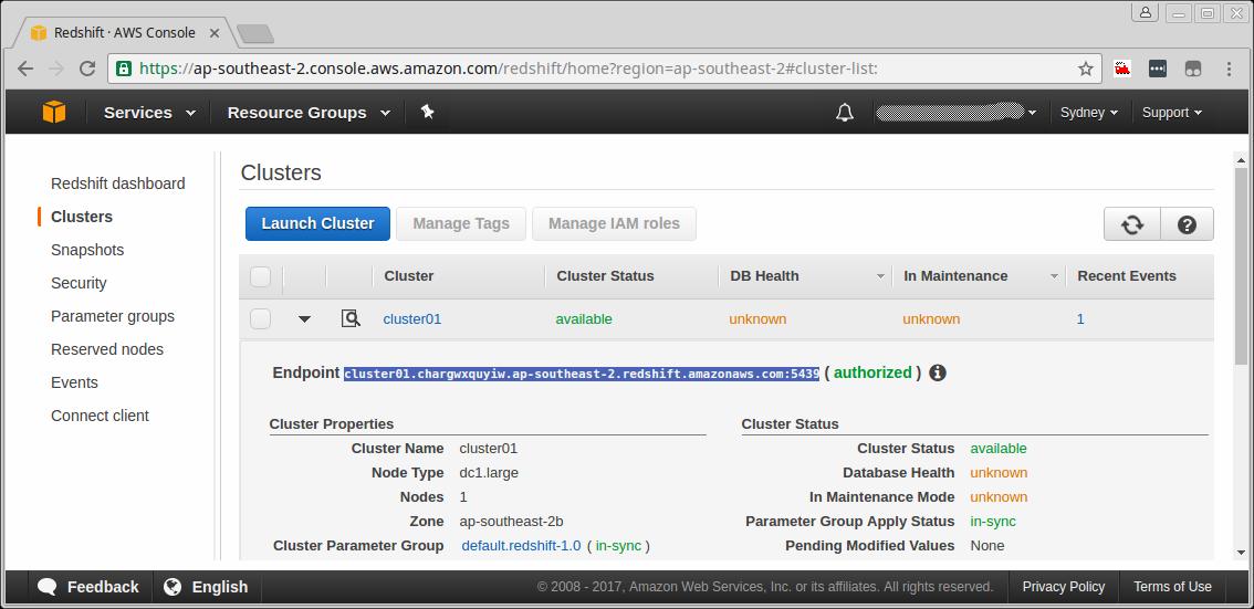 Technology Works: Database - Configuring and using Amazon