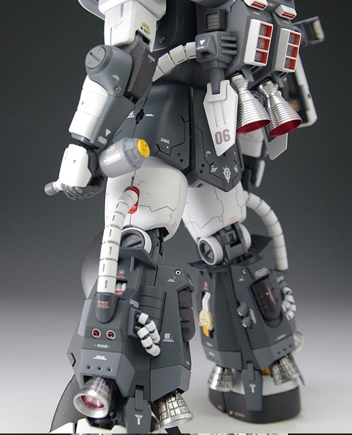 Custom Build: MG 1/100 Eric Mansfield High Mobility Zaku II [Detailed]