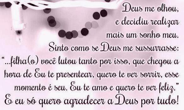 Mensagem De Agradecimento A Deus Por Mais Um Ano De Vida Facebook: Sonhar, Ainda Vale A Pena!: Quero Agradecer