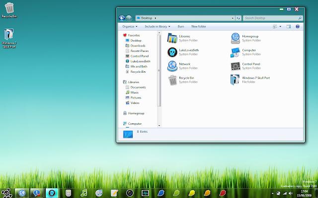 10+ Tema Windows 7 Keren yang Bisa Kamu Download Gratis