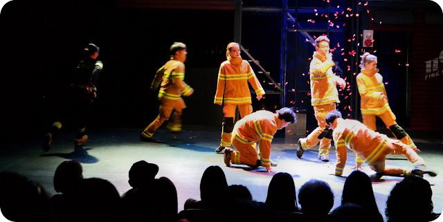 Parkour+Fireman+Show+Seoul+Korea