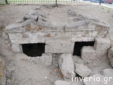 «Οι δίδυμοι Μακεδονικοί τάφοι» στην Βέροια