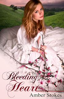 'BLEEDING HEART,' BY AMBER STOKES. Review of the 2013 self published historical novel. All review text © Rissi JC