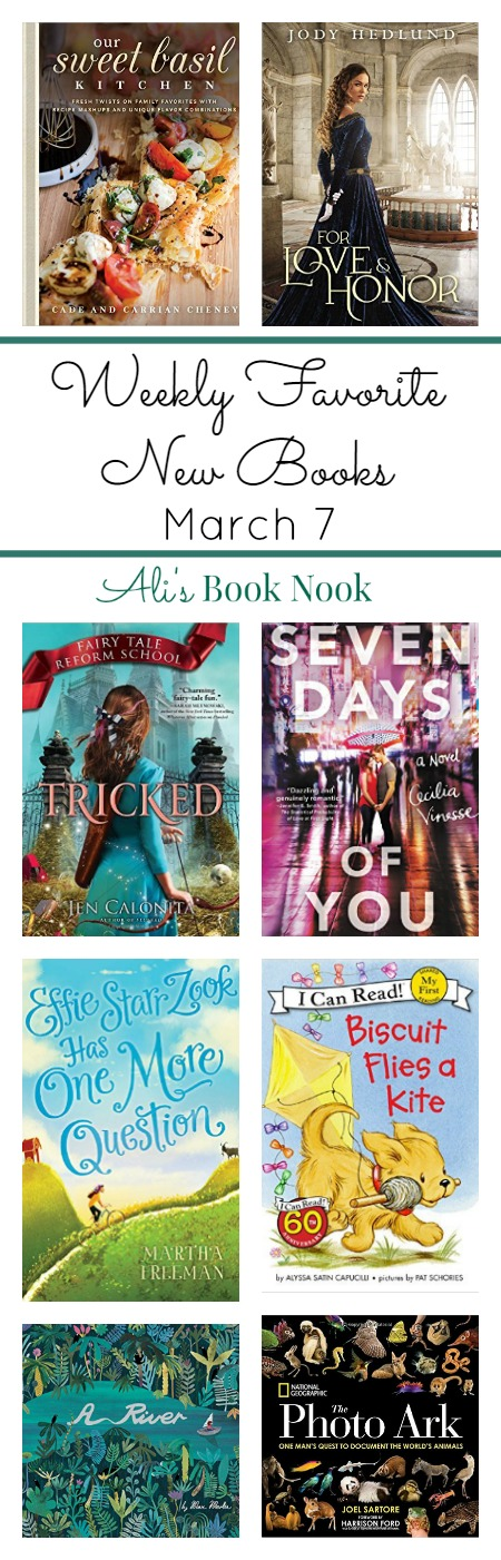 Favorite New Books coming out March 7 for kids, teens and adults