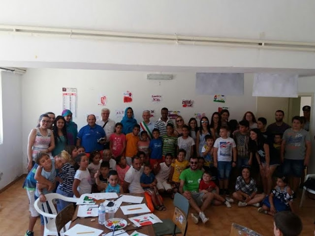 Sahrawi kids received in Italian city of Campania