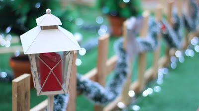 decoración navidad 2018 farolillos