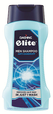 DASHING ELITE MEN SHAMPOO WAX OUT in JUST 1 WASH For GREAT HEALTHY HAIR