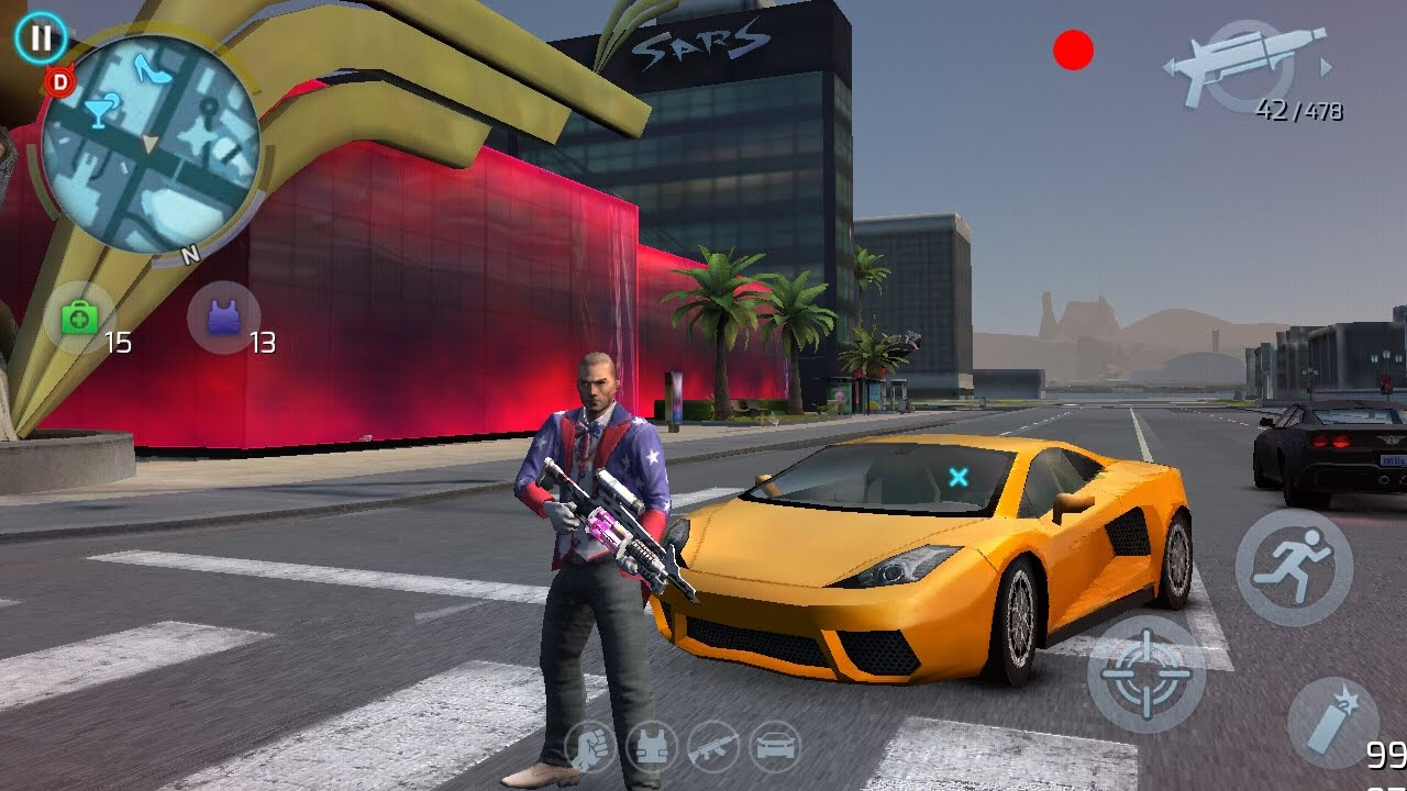 Gangstar Vegas - Mafia game 3.6.0m Mod Apk + Data - For