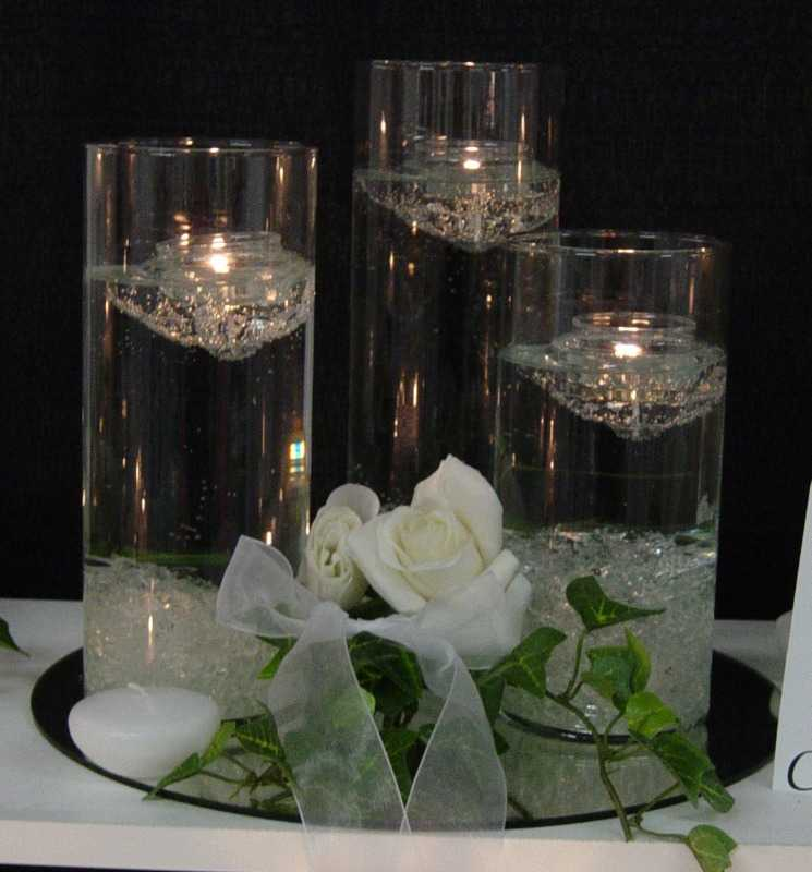 16 Stunning Floating Wedding Centerpiece Ideas: Wedding Dresses: Wedding Floating Candles