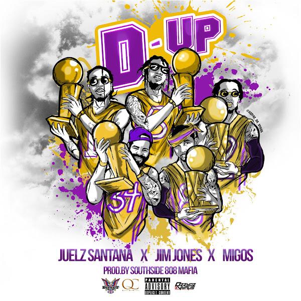 Juelz Santana - D Up (feat. Jim Jones & Migos) - Single Cover