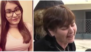 Κατέρρευσε μπροστά στις κάμερες η μητέρα της δολοφονημένης 21χρονης. «Έρημα τα πάντα μέσα μου»