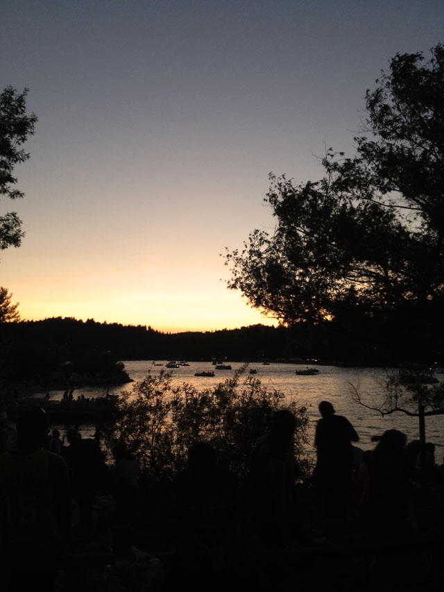 4th of July at Lake Arrowhead