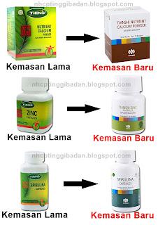 Kalsium Peninggi Badan Terbaik Dunia NHCP (Nutrient High Calcium Powder)