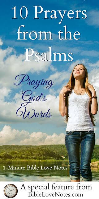 10 Good Prayers From Psalms